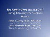 Treating Grief During Recovery For Alcoholic Women - Texas ...