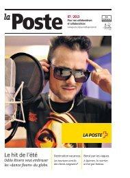 «La Poste» - journal du personnel