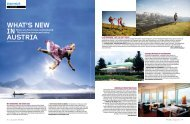 WHAT'S NEW IN AUSTRIA Neues aus Tourismus ... - Das.Goldberg