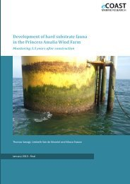 Development of hard substrate fauna in the ... - Nieuws & pers