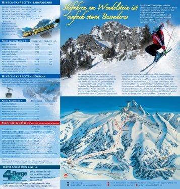 Winterspaß am Wendelstein - 5-Berge & Co