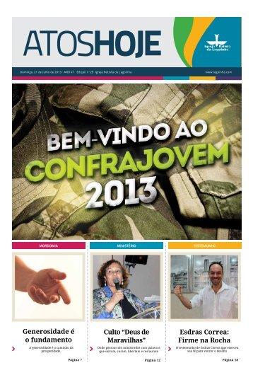 Jornal Atos Hoje Edição 29 - Lagoinha.com