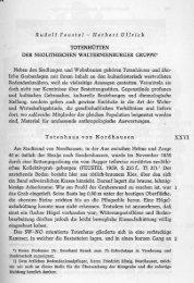 Rudolf Feustel - Herbert Ullrich TOTENHÜTTEN DER ...