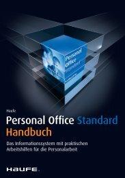 Personal Office Standard Handbuch - iDesk2 - Haufe.de