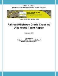 Railroad/Highway Grade Crossing - Brooks and Associates