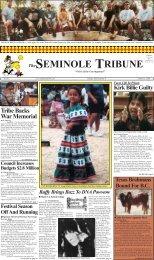 March 2 - Seminole Tribe of Florida