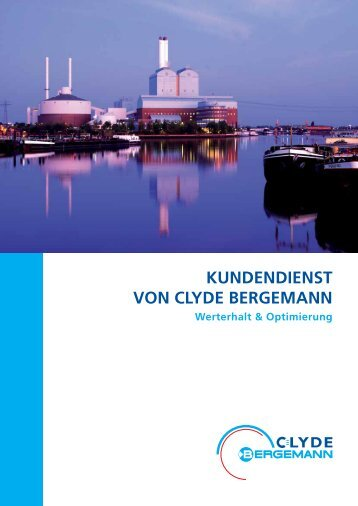 Kundendienst Broschüre - Clyde Bergemann Power Group