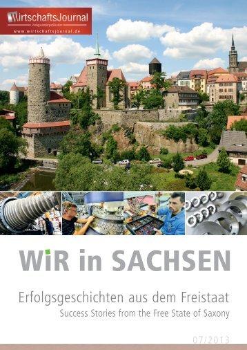 Wir in Sachsen - Wirtschaftsjournal