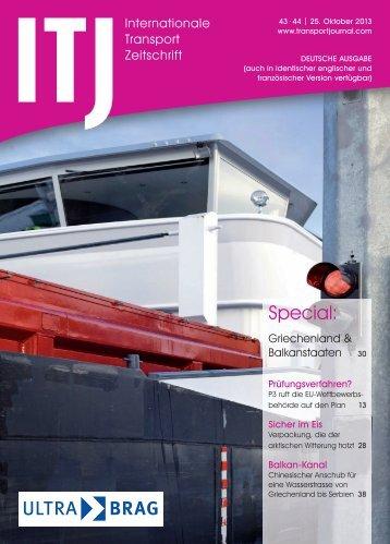 Special: - ITJ   Transport Journal