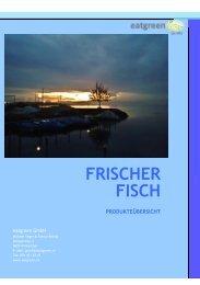 Katalog Fischspezialitäten - eatgreen