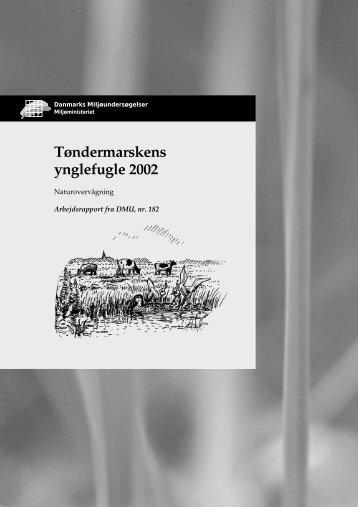 Tøndermarskens ynglefugle 2002