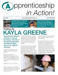 in Action! - Saskatchewan Apprenticeship and Trade Certification ...