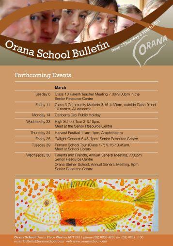 Download - Orana School for Rudolf Steiner Education