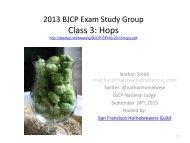 BJCP Exam Hops - destroy dot net