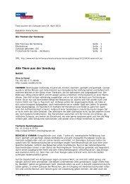 PDF zur Sendung vom 14. April 2013 - WDR