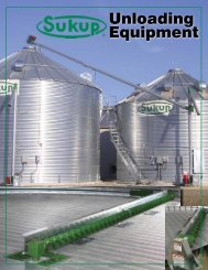 Unloading Equipment - Sukup Manufacturing Company