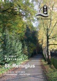 ST. REMIGIUS - Propsteigemeinde St. Remigius Borken