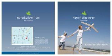 Patienten-Informationen (ca. 1,3 MB) - Naturheilzentrum Ahrensburg