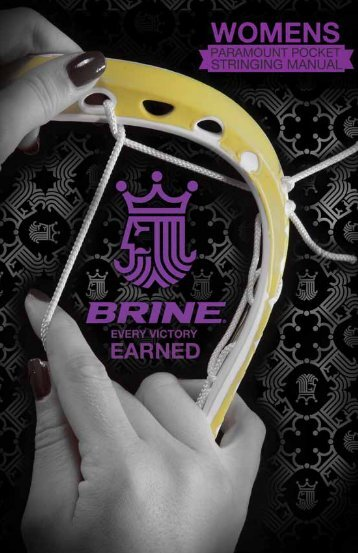 Download Our Stringing Guide - Brine