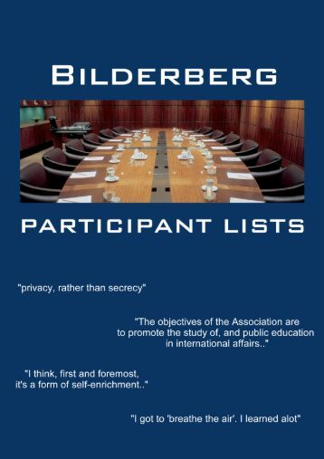 list of Bilderberg delegates since 1991 - Bilderberg 2013
