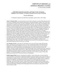 Child Maltreatment Research, Policy, and Practice for the - Pal-Tech
