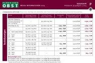 Formate und Preise 2014 - Flüssiges Obst
