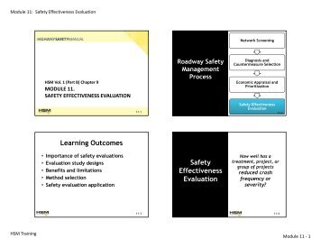 Learning Outcomes Safety Effectiveness Evaluation