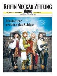 Theatermagazin Nr. 4 für Juni/Juli 2013 - Theater Heidelberg