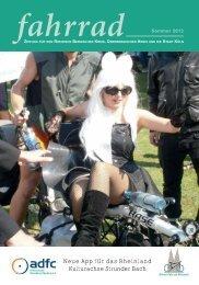 Zeitung fahrrad Ausgabe Sommer 2013 hier zum Download. - ADFC ...