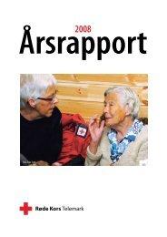 Årsrapport 2008 - Røde Kors