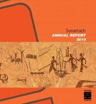 Annual report 2010 - Sonatrach