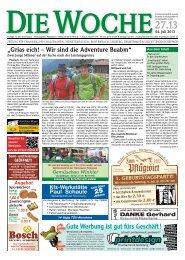 Ausgabe 27/13 - Redaktion + Verlag