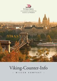 Viking-Counter-Info - Viking Flusskreuzfahrten