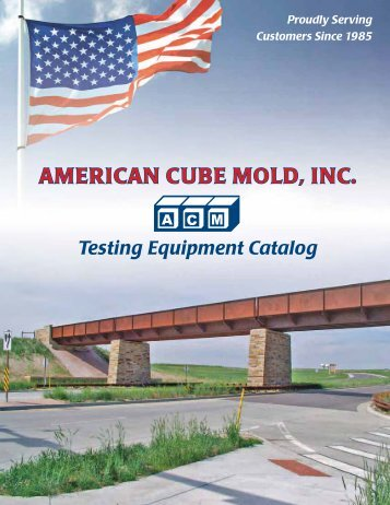 to download a 2012-2013 ACM Product Catalog - American Cube ...