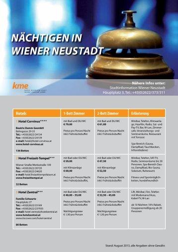 Hotels - Wiener Neustadt