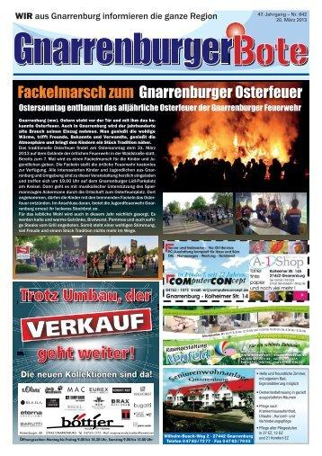 Gnarrenburger Bote - WIR Gnarrenburg
