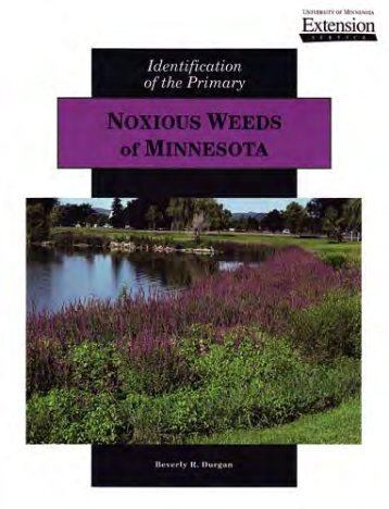 Identification of the Primary Noxious Weeds of Minnesota - City of ...
