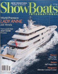 ShowBoats International November 2006 (Royal Road ... - Perini Navi
