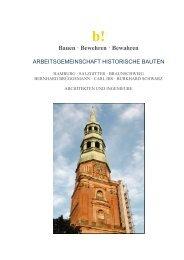 Bauen · Bewehren · Bewahren - Arbeitsgemeinschaft Historische ...
