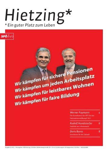 SPÖ Hietzing Magazins