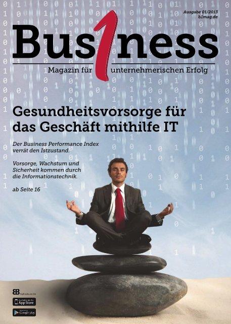 Bus1ness Magazin Oktober 2013 - RConsulting GmbH & Co. KG