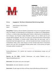 Ausgegrenzt - Wie Roma in Deutschland Diskriminierung - WDR.de