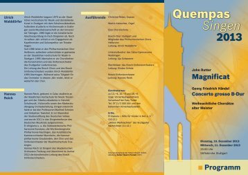 Flyer Quempas 2013 - KSF