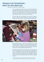 Zeitung in der Grundschule – Ideen für den Unterricht