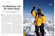 Ein Weilheimer und die sieben Berge - Orthopädisches ...