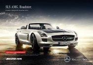 Preisliste SLS AMG Roadster (PDF) - Autostern Wädenswil AG