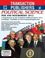 Download PDF - Transaction Publishers