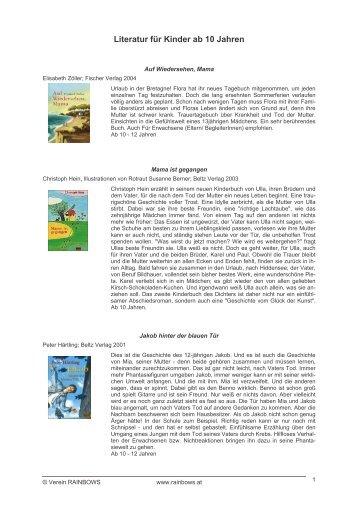 Literatur für Kinder ab 10 Jahren - Rainbows