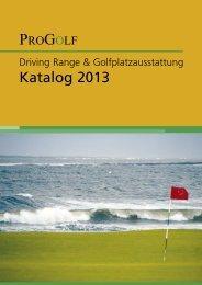 Driving Range & Golfplatzausstattung Katalog ... - ProGolf | Flehmig