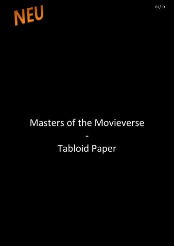 Masters of the Movieverse - Tabloid Paper - WordPress.com